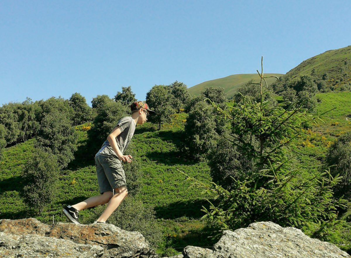 Sui monti tra la Valle del Cassarate e la Val Colla