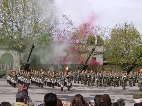 Il raduno e le celebrazioni presso la Caserma Santa Barbara
